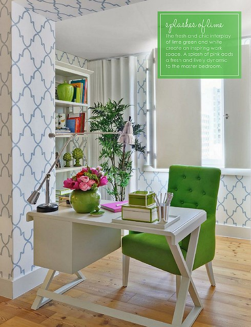 Chic home office inspiration