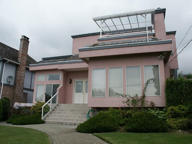 Exterior before home renovation