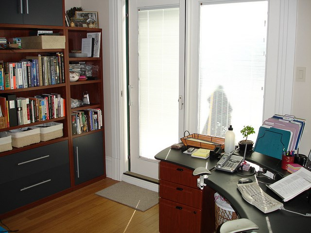 home office door