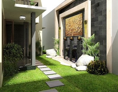 simple home garden