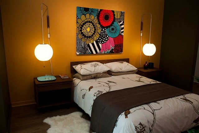 Creative Bed Decor Ideas for Small Spaces at Night