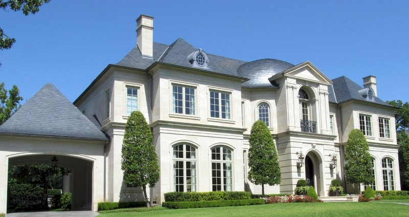 luxury mansion - home - how to make your house a home on any budget