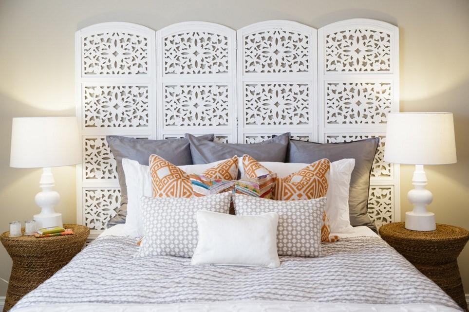 Moroccan modern mediterranean bedroom calgary