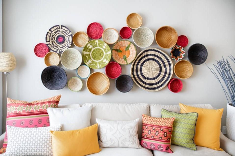 Moroccan modern mediterranean living room calgary