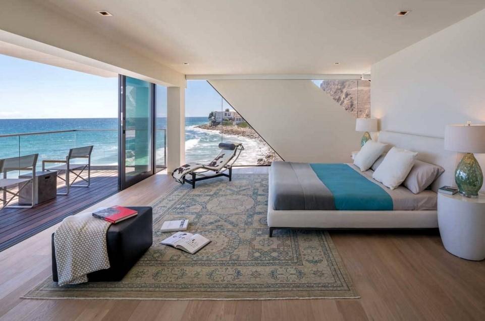 wave beach home contemporary bedroom los angeles
