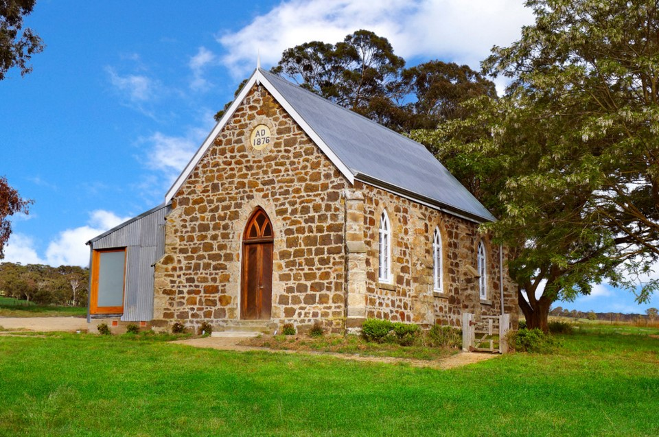 Laggan Church industrial exterior home in sydney