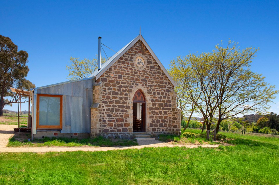 Laggan Church industrial exterior home sydney