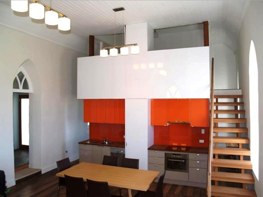 Laggan Church industrial kitchen design - sydney