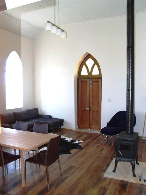 Laggan Church industrial living room sydney