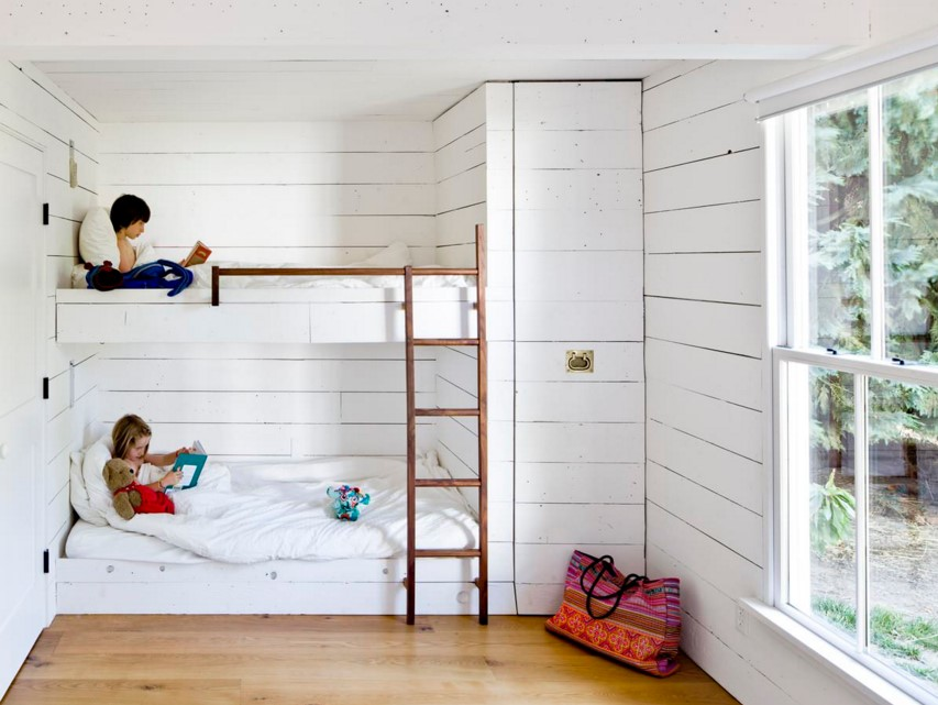 Tiny House farmhouse kids bedroom portland