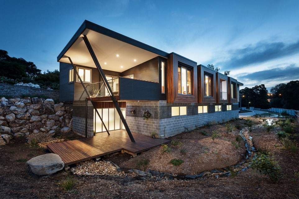 Warragul Residence contemporary exterior melbourne