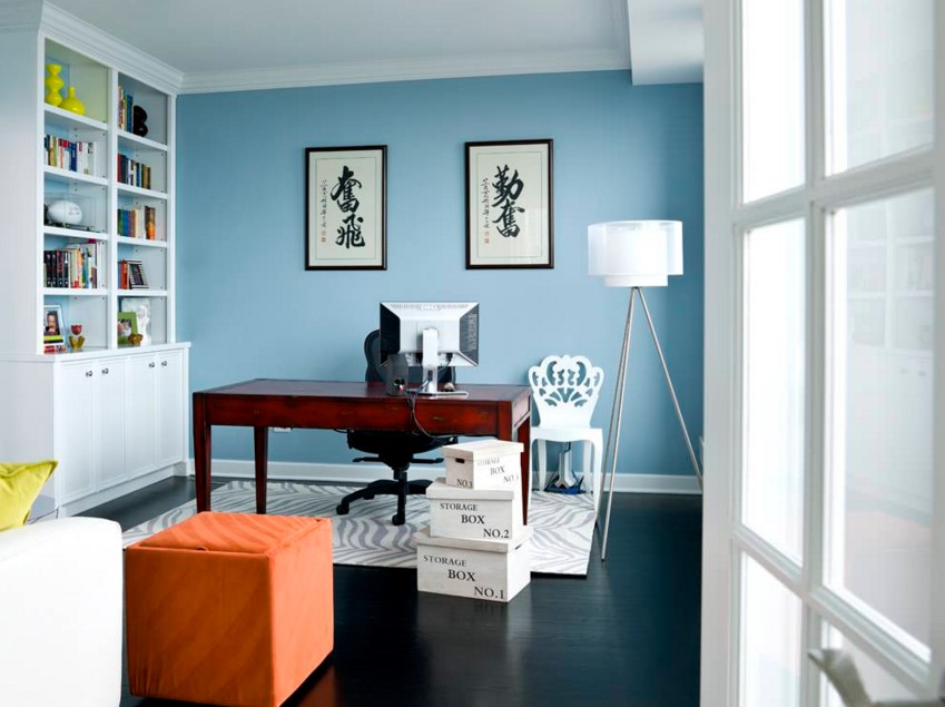 Water Front in the Windy City transitional home office chicago