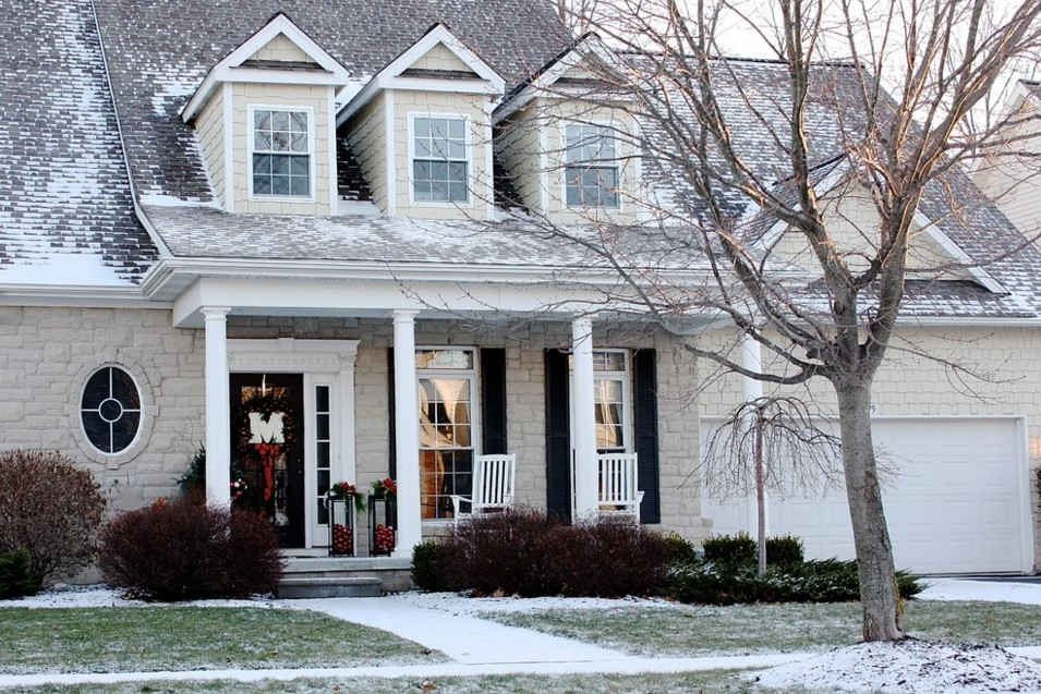 christmas home tour - traditional exterior detroit