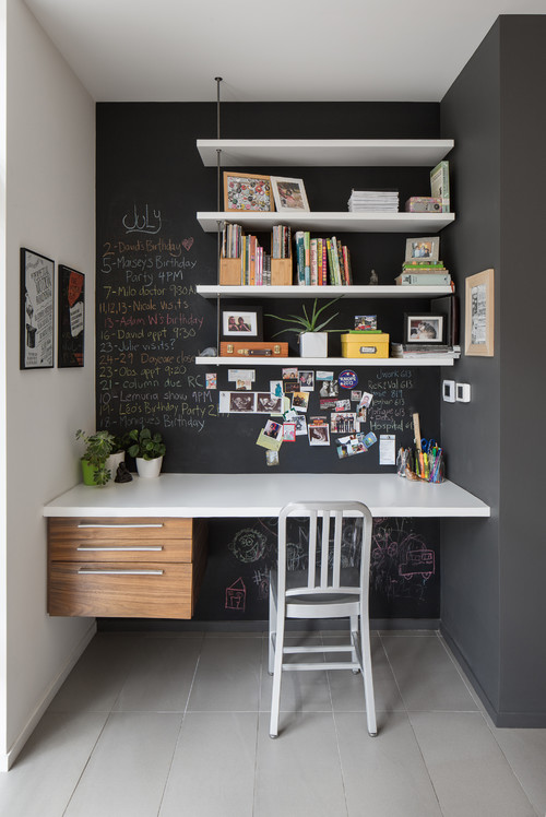 contemporary home office at ottawa