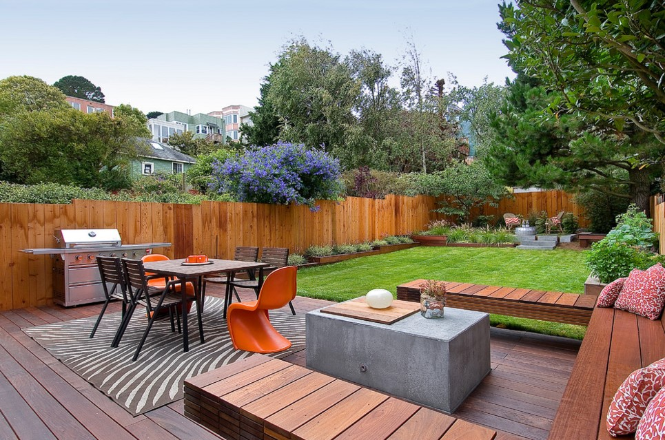 Douglass transitional deck san francisco