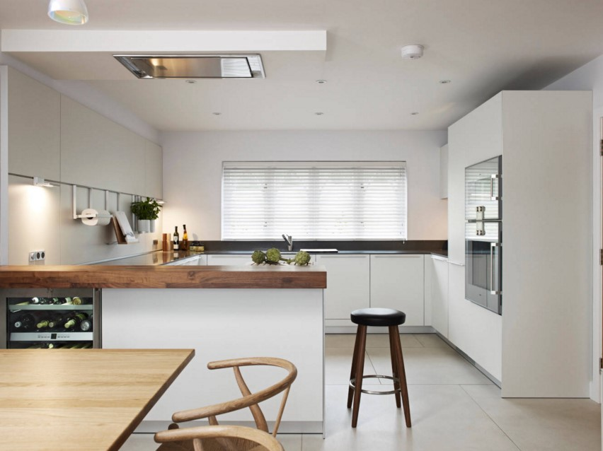 East Devon Refurbishment Kitchen and Bathrooms contemporary kitchen south west