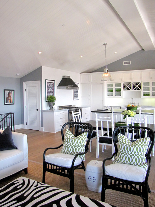 The Sandberg Home beach style kitchen orange county