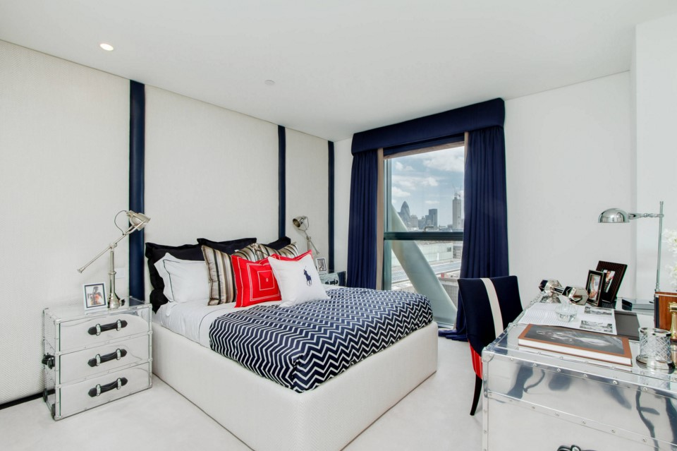 Neo Bankside apartments beach style bedroom other metro