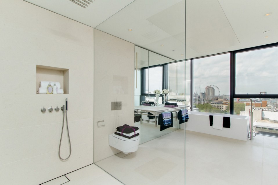 Neo Bankside apartments contemporary bathroom other metro 2