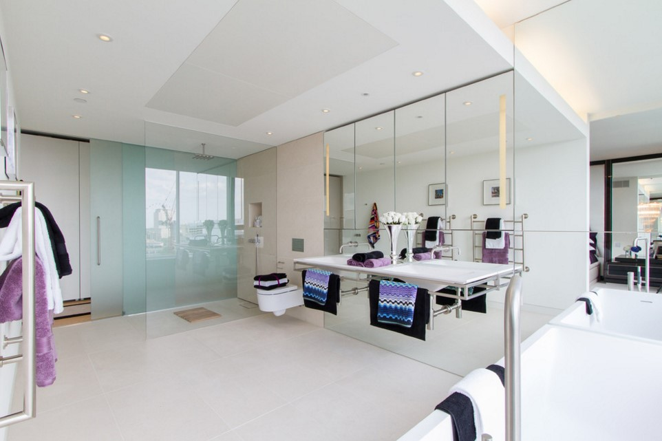 Neo Bankside apartments contemporary bathroom other metro 3
