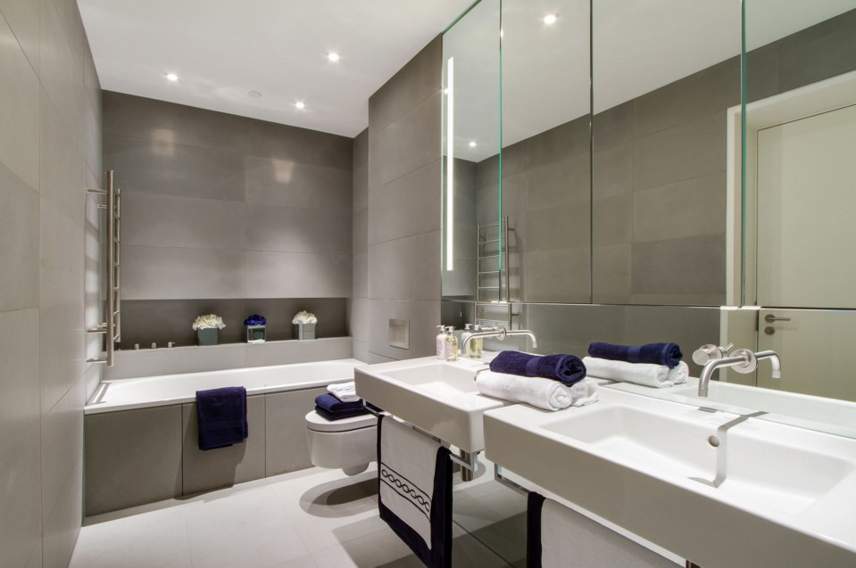 Neo Bankside apartments modern bathroom other metro
