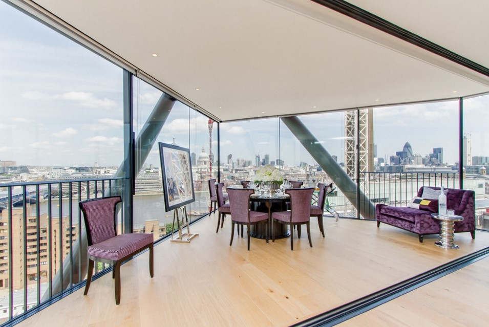 Neo Bankside contemporary dining room other metro 2