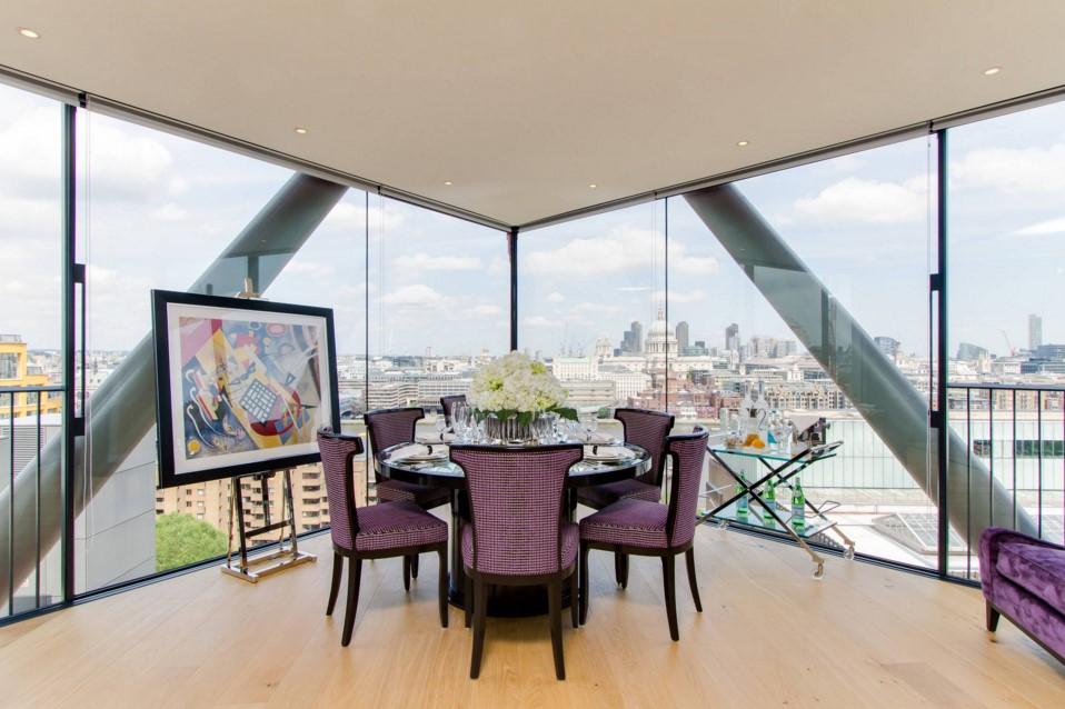 Neo Bankside contemporary dining room other metro