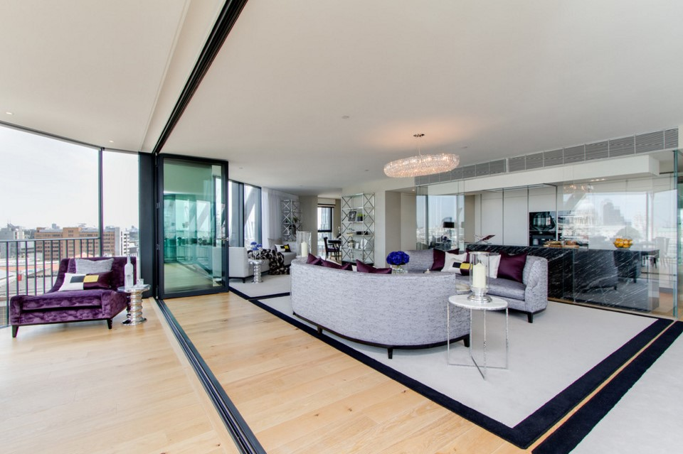 Neo Bankside contemporary living room other metro design photo