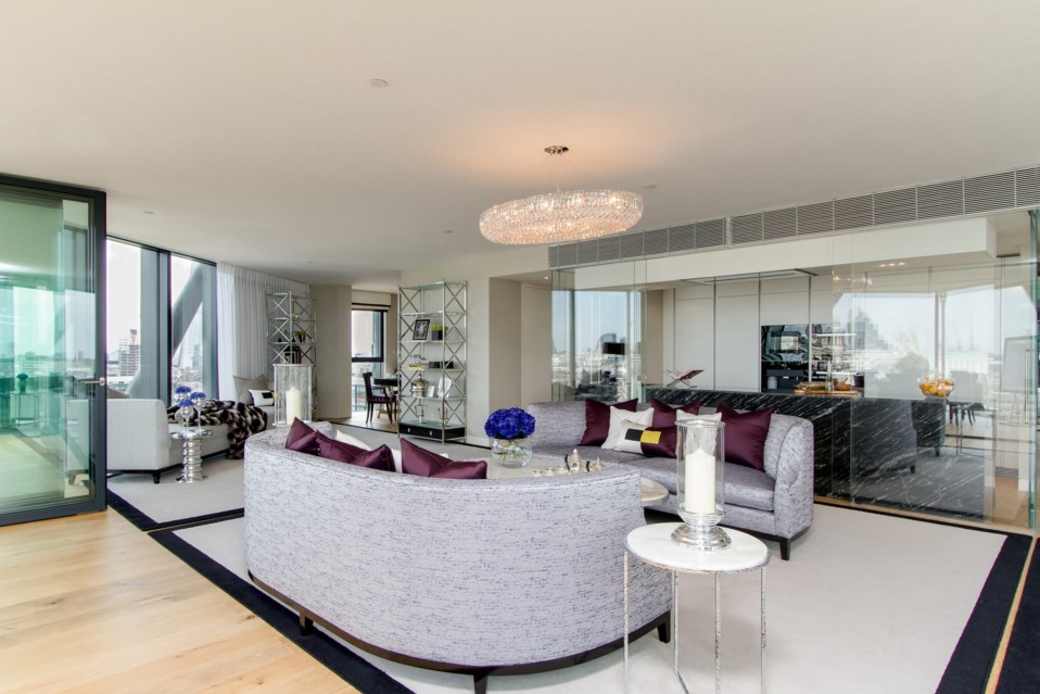 Neo Bankside contemporary living room other metro design