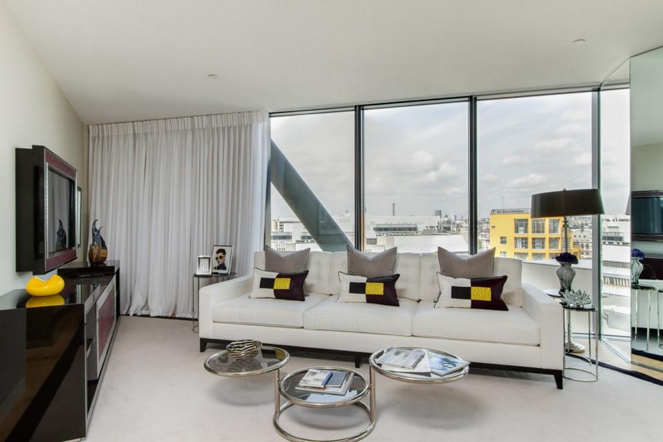 Neo Bankside elegant living room other metro 2