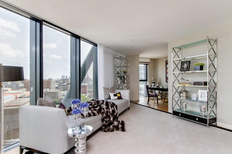 Neo Bankside elegant living room other metro