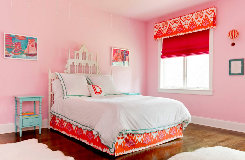Rumson Residence transitional kids bedroom