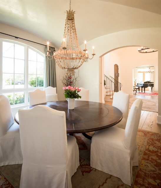 Shasta home traditional dining room - houston 3