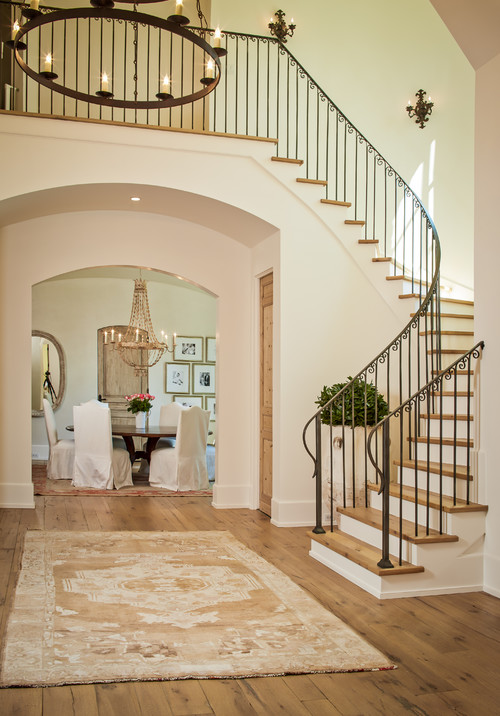 Shasta home traditional staircase - houston