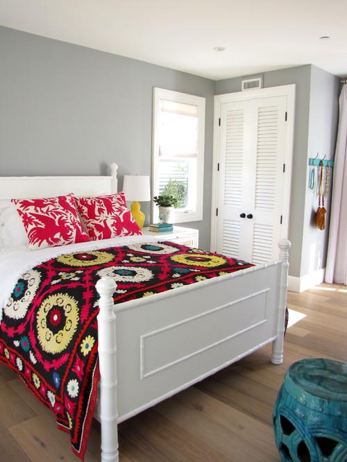 The Sandberg Home beach style bedroom orange county 3