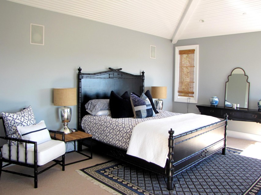 The Sandberg Home victorian bedroom orange county
