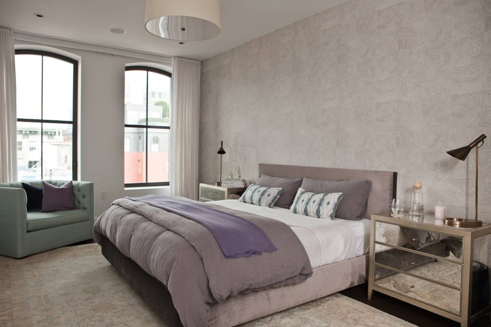 Enjoy a themed elegant home with the tribeca apartment for New york apartment bedroom ideas