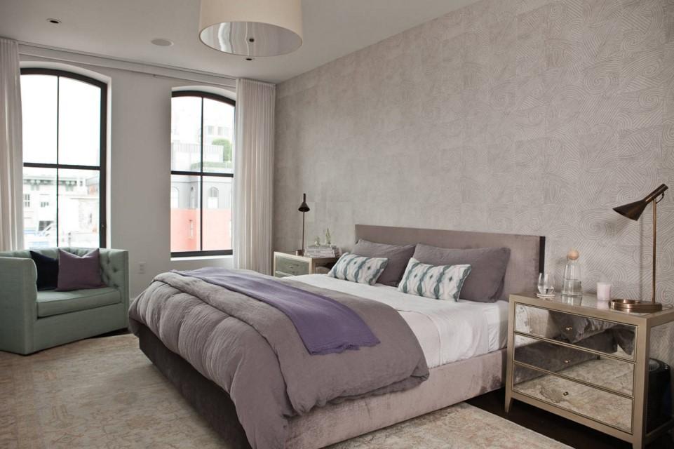 TriBeCa Apartment contemporary bedroom new york
