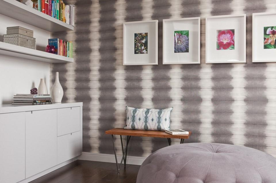 TriBeCa Apartment contemporary home office design - new york