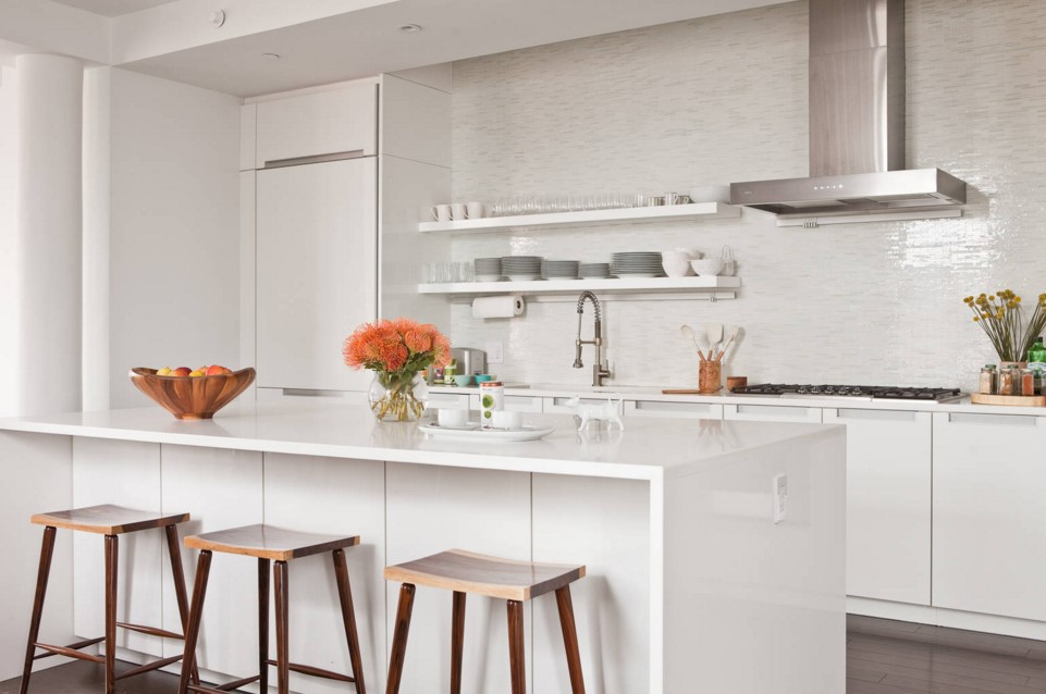 TriBeCa Apartment contemporary kitchen new york