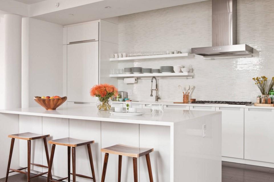 TriBeCa Apartment contemporary kitchen new york