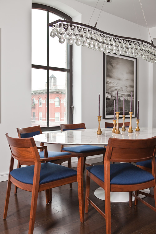 TriBeCa Apartment dining room new york