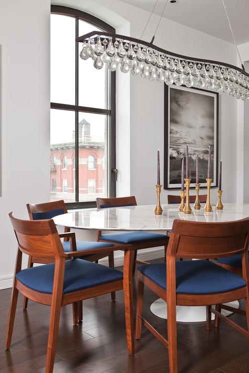 TriBeCa Apartment dining room new york