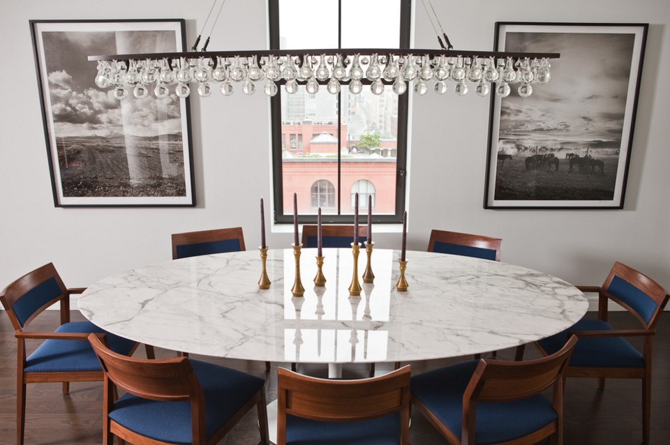 TriBeCa Apartment dining room other metro