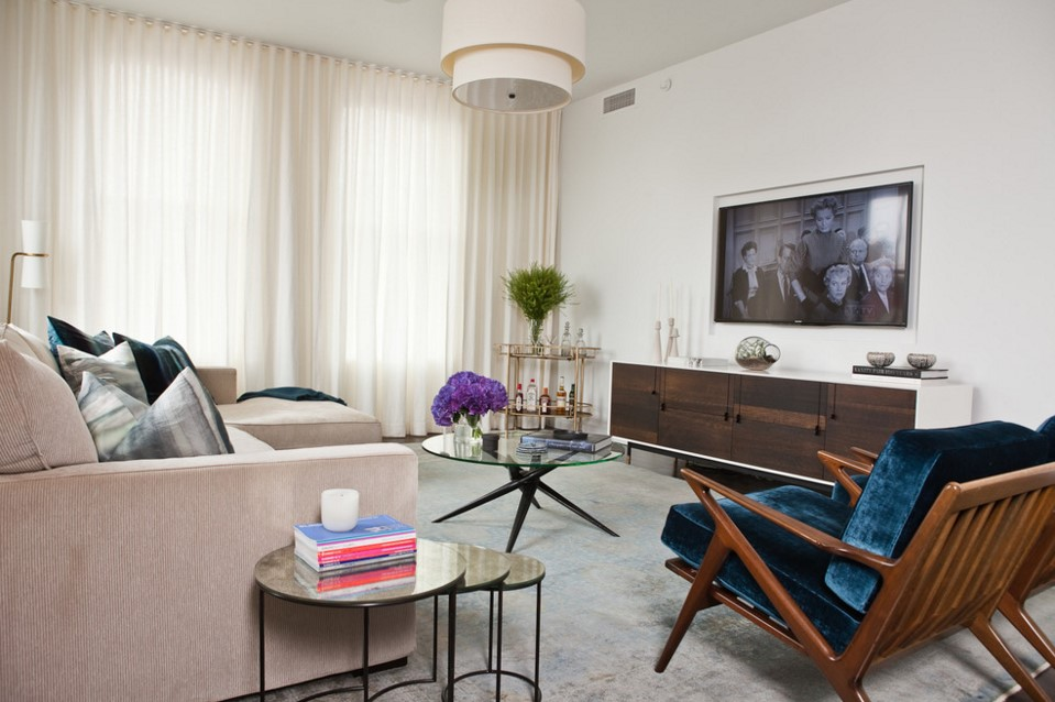 TriBeCa Apartment living room - new york 2