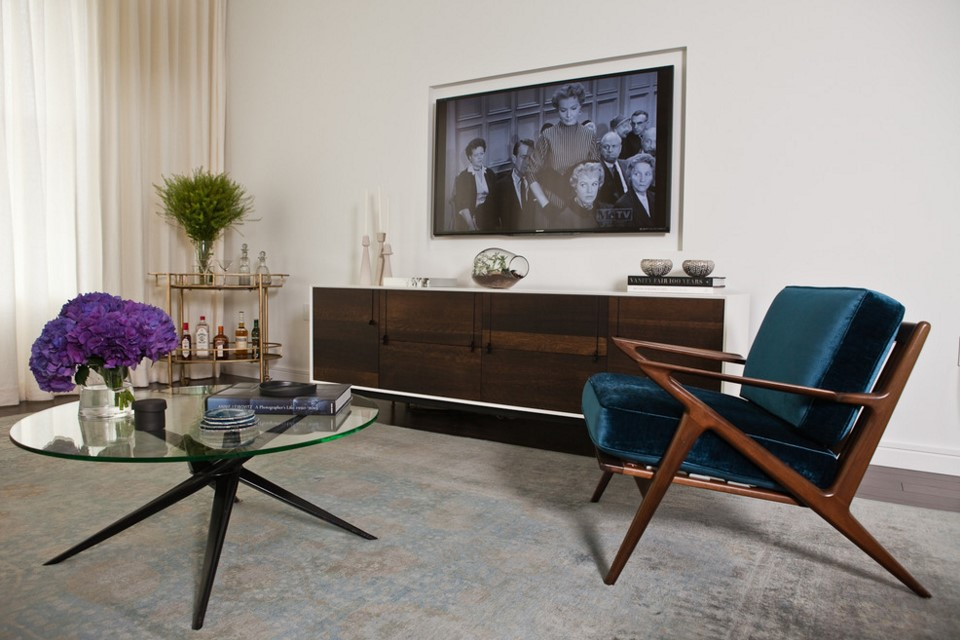TriBeCa Apartment living room - new york