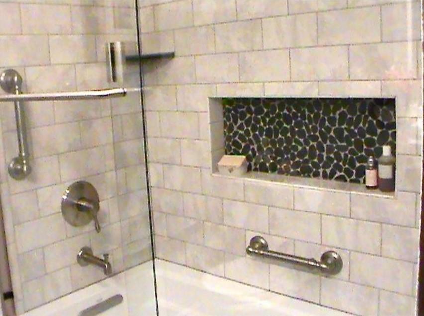 bathroom contemporary - bathroom wichita 3