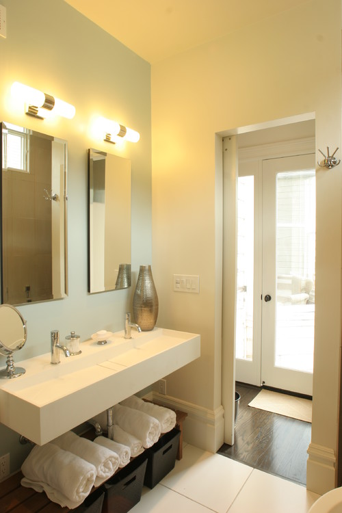 Alamo Square Remodel contemporary bathroom san francisco