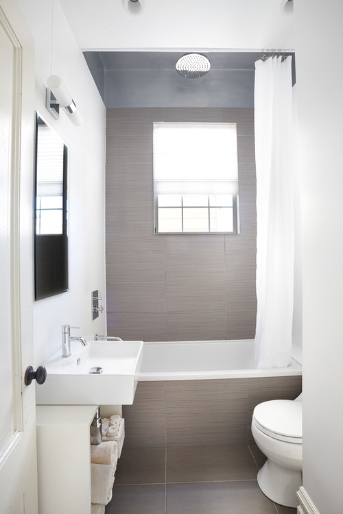 Alamo Square guest bathroom contemporary san francisco 2
