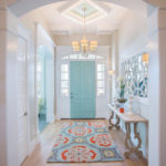 bradshaw residence beach style entry design - salt lake city